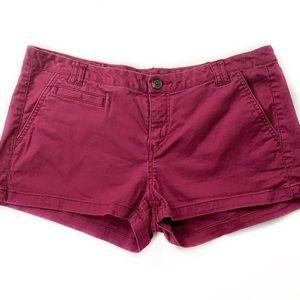 Express • Raspberry Chino Shorts
